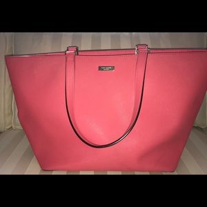 Kate Spade Large Tote - hot pink